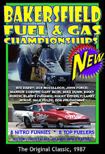 Drag Racing BAKERSFIELD CLASSIC FUEL & GAS 1987, A  Main Event Entertainment DVD