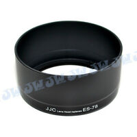 JJC Camera Lens Hood Shade for CANON EF 50mm F/1.2L USM Lens replace Canon ES-78