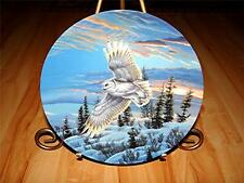 """Twilight Glow"" SPIRITS OF THE SKY Eagle by Cynthie Fisher W.S.George Plate"