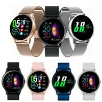 Waterproof IP68 Blood Pressure Oxygen Heart Rate Monitor Sport Track Smart Watch
