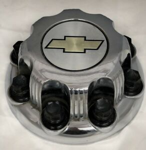 Chevrolet Silverado Suburban Express 2500 3500 Chrome Steel Wheel Center Hub Cap