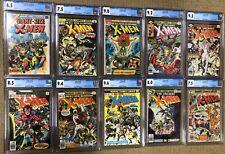 Giant Size X-Men 1 & X-Men 94-140, including 101, 120, 121, 129 & 130.  All CGC!