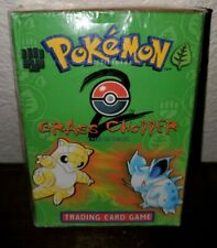 Grass Chopper Pokemon Theme Deck Base Set 2 Sealed (Squished Box) New, Complete