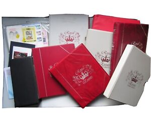 British Royalty Glory Box - Large Selection of Stamps & Covers (See Description)