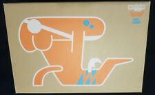 Orange Fire Bone Fly Vinyl Figure by Pete Fowler. Playbeast 2006 Ltd Edition 200