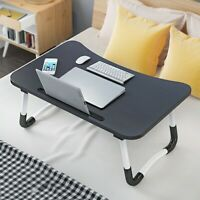 Portable Laptop Desk Folding Foldable Lap Tray Bed Multifunction Table Stand
