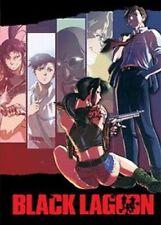 BLACK LAGOON: 1st & 2nd SEASON Episodes 1-24 DVD in English Anime NEW