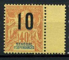 Senegal 1912 Yv. 50 Nuovo ** 100% Soprastampato Soprastampati Senegal