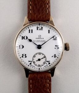 1928 Omega 9ct Gents Watch
