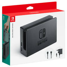 New Nintendo Switch Dock Set Power Adapter HDMI Type G UK Plug Ireland Singapore