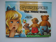 Goldilocks, Pop Ups with Moving Figures, Kubasta, Murrays Sales, 1974
