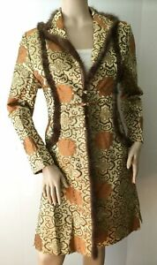 GRACE CHUANG New York Silk Fur Jacket (Size M)
