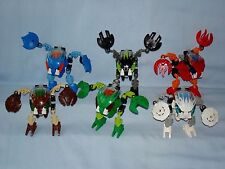 2002 Lego Bionicle BOHROK (8560 - 8565) Complete Set of 6 with Krana