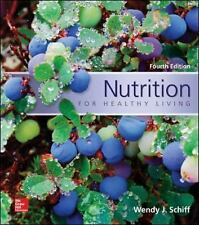 Nutrition for Healthy Living by Wendy J. Schiff (English) Paperback Book--NEW