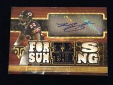 2014 Triple Threads Matt Forte ( BEARS ) AUTOGRAPH AUTO PATCH JERSEY SP Card 2/9