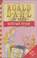 Roald Dahl Rhyme Stew Cassette Audio Book Absurd Verse Derek Griffiths FASTPOST