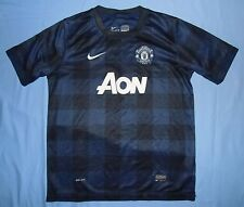 Manchester United / 2013-2014 Away - NIKE - JUNIOR Shirt / Jersey. 158-170 13-15