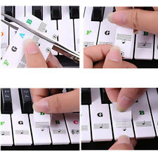 Piano Stickers Removable Keyboard Stickers for 88/61/54/49 Durable Key Sticky