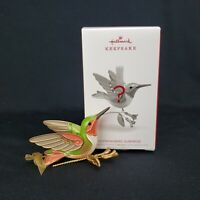Gold Hummingbird Surprise 2018 Hallmark Keepsake Christmas Ornament