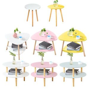 Modern Round/Triangle Coffee Table Side End Table Tea Sofa Table Living Room
