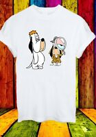 Droopy Drippy Dripple Anthropomorphic Dog Cartoon Men Women Unisex T-shirt 833