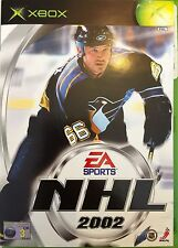 NHL 2002 For Microsoft Xbox Boxed With Manual