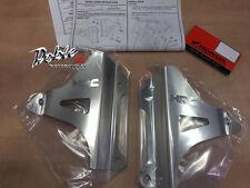 Original Honda Oem HRC Crf450r Crf450 R Crf 450 Aluminio Cepillado Radiador Ortodoncia