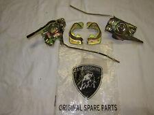 Lamborghini Miura door lock pair left + right complete set with strikers