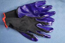 5 Paar Gartenhandschuhe Gr. 8 Polyester / Latex Arbeitshandschuhe Handschuhe