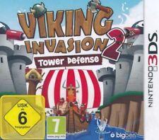 Nintendo 3DS Viking Invasion 2 Tower Defense NEU