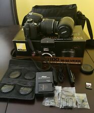 Nikon D3100 Digital SLR Bundle + 18-55 VR + 55-200 DX + Case + 8GB Memory Kit,..
