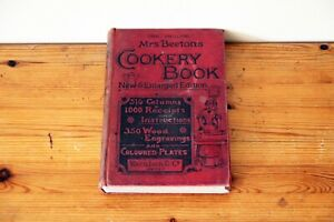 Mrs Beetons New & Enlarged Cookery Book