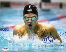 MICHAEL ANDREW signed 8x10 Photo Swimmer Swimming Olympic Olympics PSA/DNA