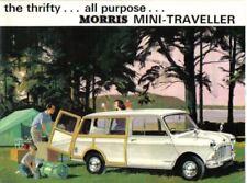 Morris Car Sales Brochures 1966