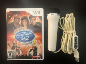 Karaoke Revolution Presents: American Idol Encore 2 (Nintendo Wii) complete