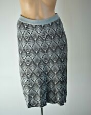 Lazybones - Soft Stretch Cotton Wiggle Skirt - XS