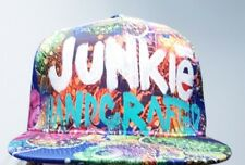 High End Junkie Mens Floral Snapback Hat