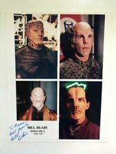 Bill Blair 8X10 Photo Babylon Five Autographed