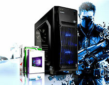 Gamer PC Intel Core i7 Quad 16GB RAM SSD + HDD GeForce GTX1050 Windows 10 PRO