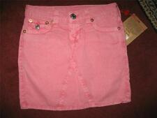 """NWT Girl's TRUE RELIGION """"Joey"""" RED SKIRT....size 10"""