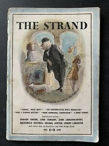 Ardizzone Edward THE STRAND MAGAZINE May 1947 Betty Swanwick Brian Robb ILLUSTR