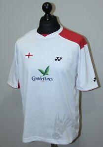England national Badminton team match worn shirt Yonex Size L