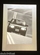 SAAB 900 GLI Turbo 900s 1981 Alan Jones Formula I Poster Advertising Brochure