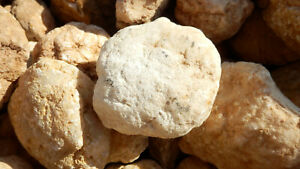 Quarzgeoden Quarzgeode geschlossen aus Marokko, ca 5 kg, versch. Größen 1kg/16.-
