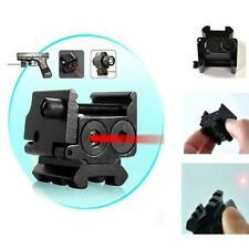 New Compact 650nm Red Laser Gun Sight Dual Picatinny Weaver Rail Mount GBNG