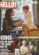 Hello magazine Kate Middleton Prince George Queen Elizabeth Amanda Byram wedding