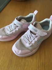 Girls Pink Skechers Trainers Size 2