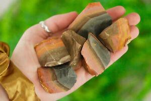 Large Raw Polychrome Jasper Rough Crystal (Desert Jasper)