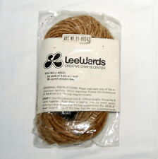 Vintage Lee Wards Macrame Kit Knot with Cord Beads Instructions New in Pkg Craft