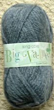 King Cole Big Value Super Chunky 100gm Balls 12 Colours 34 Denim